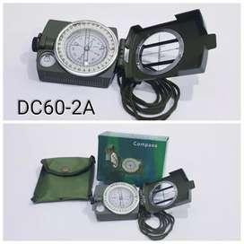 Kompas Lensatic Prismatic + poket (BARU) petunjuk arah mata angin