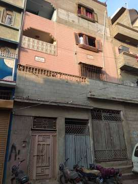 house for sale ground+4 in liaquatabad no.5 commercial area