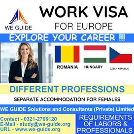 WORK VISA Available for Canada for Professionals of Sales & Marketing