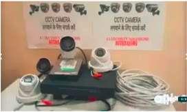 Brand New 4 CCTV Camera SETUP