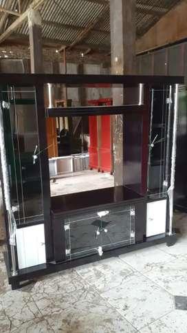 Bufet tv kayu hitam