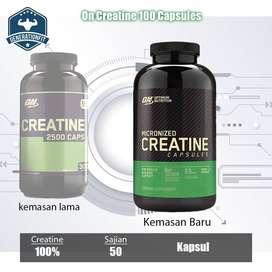ON Creatine 2500 100 Capsules BPOM ON Creatine Monohydrate kapsul