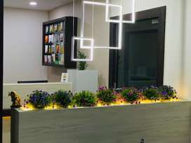 Newly furnished and built salon for sale with all equipments