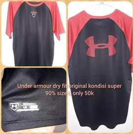 Preloved Under armour tshirt dry fit original