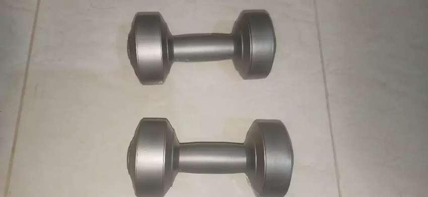 Barbel berwarna Silver (2 kg) 0