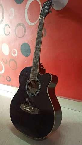 Pearl Black Acoustic Guitar