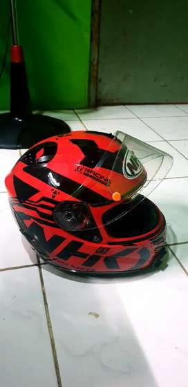 Helm NHK Terminator red black