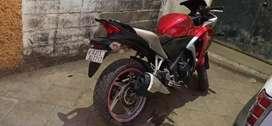 my honda cbr 250r in good condition