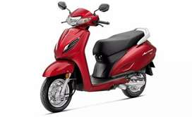 Honda Activa Brand New pay Rs.9999/- No Income proof  not required