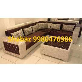 PL28 Corner sofa set with 3 years warranty Cal us