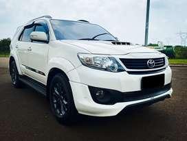Toyota Fortuner 2.5 G VNT TRD Sportivo 2014 White Diesel Istimewa