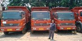 Hino engkel modif tronton dump truk 2014