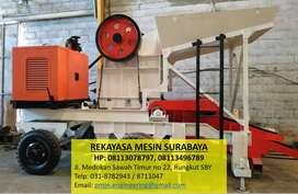 Mesin Pemecah Batu Stone Crusher Mobile type 1012