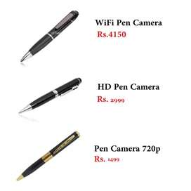 spy pen 720p , hd and with wifi