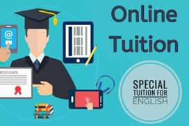 Online tuition for english