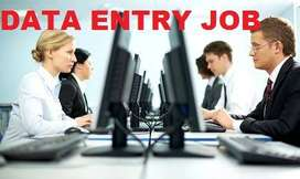 Data entry work urgent need of candidate for work from home as data en