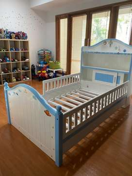 Frame tempat tidur anak ukuran 12x200 mulus