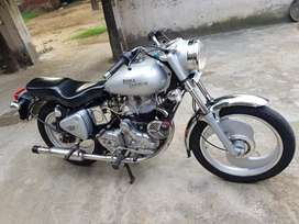 Sale my royal Enfield bullet color silver model  NYC condition new
