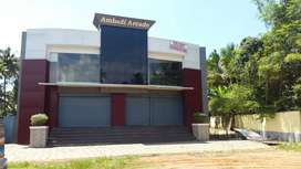 Commercial space for rent at Aythil Junction  kollam byepass