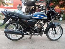 Good condition bike ,1 hand use.avres 65-70  incidence