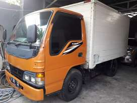 isuzu elf NHR 100Ps engkel box almunium 2010