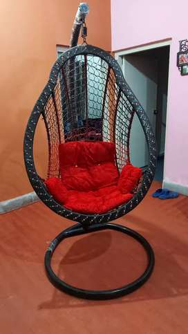 Red Swing in new condition