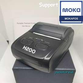 Printer Bluetooth mini portable Untuk Kasir dan PPOB Support MOKAPOS