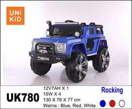 mobil mainan aki Land Rover UK780 gratis ongkir