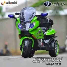 Motor Aki Anak samurai bsa remote n manual free helm cntik garansi 6bl