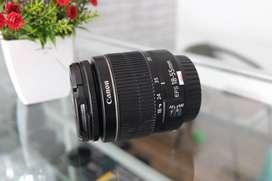 Lensa Kit Canon 18-55 mk III Muluus Normaal