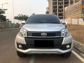 Toyota Rush G 2016 silver matic