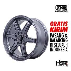 Velg Mobil Ring 16 HSR MINAS FC - PCD 4X100-114,3 ET42 Peleg R16 Grey