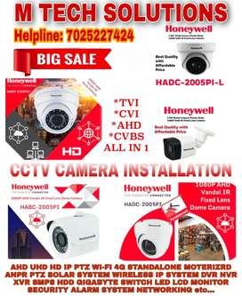 CCTV CAMERA INSTALLATION & MAINTENANCE
