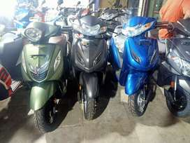 Any Brand New SCOOTER At Just Rs5555/- DOWNPAYMENT