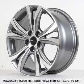 Velgg Import KAWANUA TY5068 HSR R17X75 H5X114,3 ET40 GMMF
