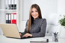 Need good looking female personal secretary to boss
