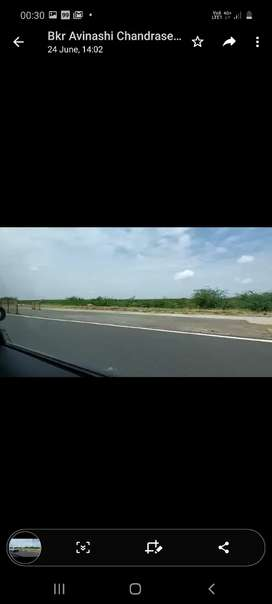 Coimbarore L&T Road Facing 1 Acre For Sale. Commercial and WearHouse