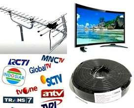 PAKET PASANG BARU ANTENA TV LOKAL UHF