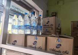 Atlantic mineral water whole sell price 70/- per boxes
