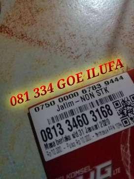 Nomor cantik telkomsel seri GOE ILUFA