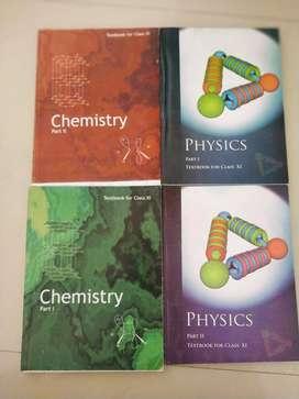 11th NCERT Physics & Chemistry