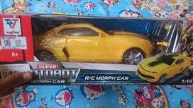 Mainan anak mobil berubah jadi robot
