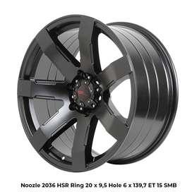 READY VELG HSR NOOZLE R20X9.5 H6/139,7. UNTUK PAJERO, FORTUNER, TRITON