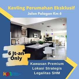 Kavling Tanah Cocok Untuk Invest. Dekat Jl Raya Palagan Km 6