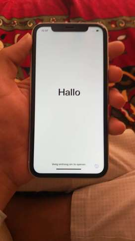iPhone xr white, 64gb