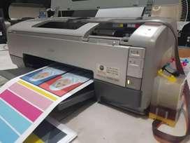 ready stok printer epson 1390 a3+ normal siap pakai