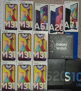 Samsung M31 and other Samsung handsets are available