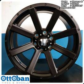 Velg Triton Everest Fortuner Pajero Havox 8 R20X9 hole 6x139.7 ET 20