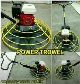 Power Trowel acian lantai/aplikator Floor Hardener Fullset+pan disc