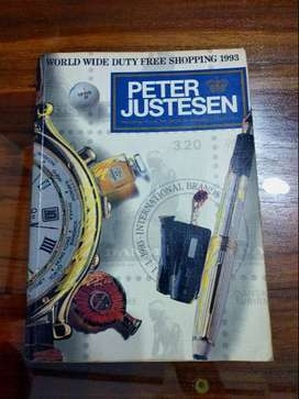 Katalog Peter Justesen
